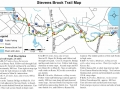 Stevens Brook Trail Guide Map